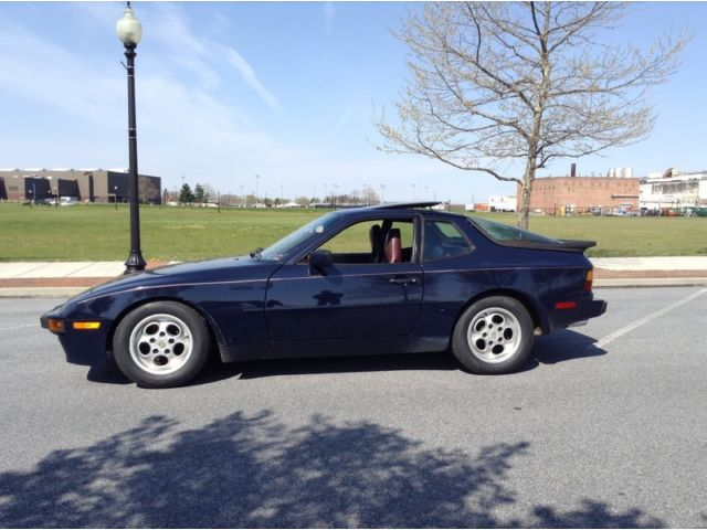 1986 Porsche 944 Coupe Barn Find