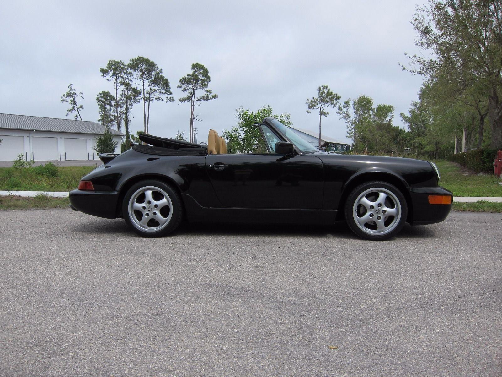 1991 porsche 911 carrera 2 964 convertible for sale. Black Bedroom Furniture Sets. Home Design Ideas