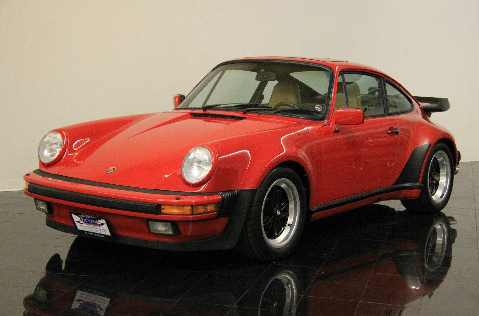 1987 porsche 911 turbo carrera coupe for sale. Black Bedroom Furniture Sets. Home Design Ideas