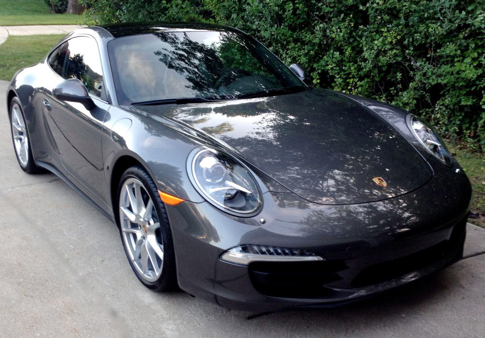 Porsche New Car Smell