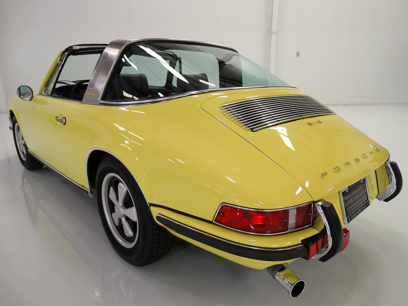 1971 Porsche 911 S 2.2 Targa, Number 24 OF ONLY 788 PRODUCED!