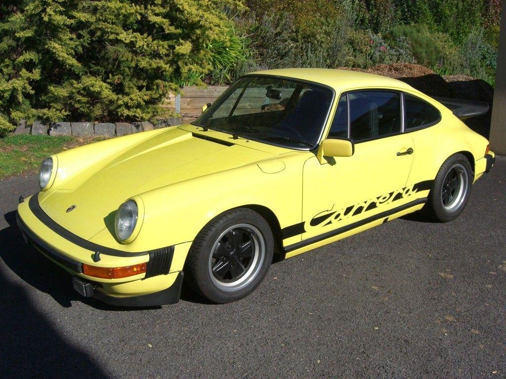 1976 Porsche 911 930 For Sale: 1976 Porsche 911 Carrera 3.0 For Sale