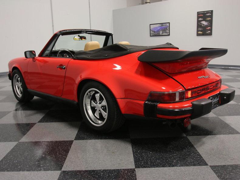 1983 Porsche 911 Cabriolet