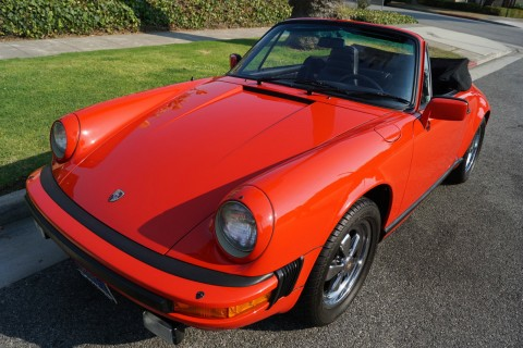1983 Porsche 911 SC 3.0L Cabriolet for sale