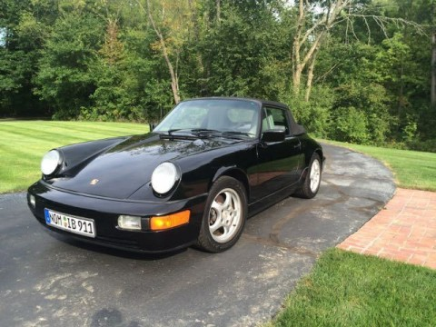 1990 Porsche 911 Carrera 4 Cabriolet AWD for sale
