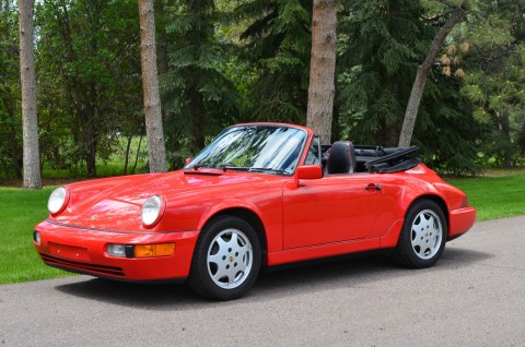 1991 Porsche 911 Cabriolet for sale