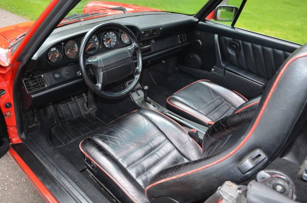 1991 Porsche 911 Cabriolet