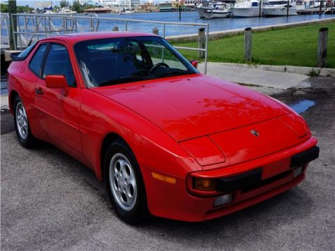 Low miles 1989 Porsche 944 for sale