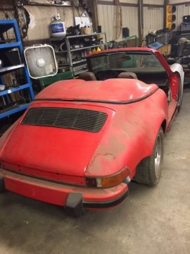 1982 Porsche 911 Targa Speedster Replica Project for sale