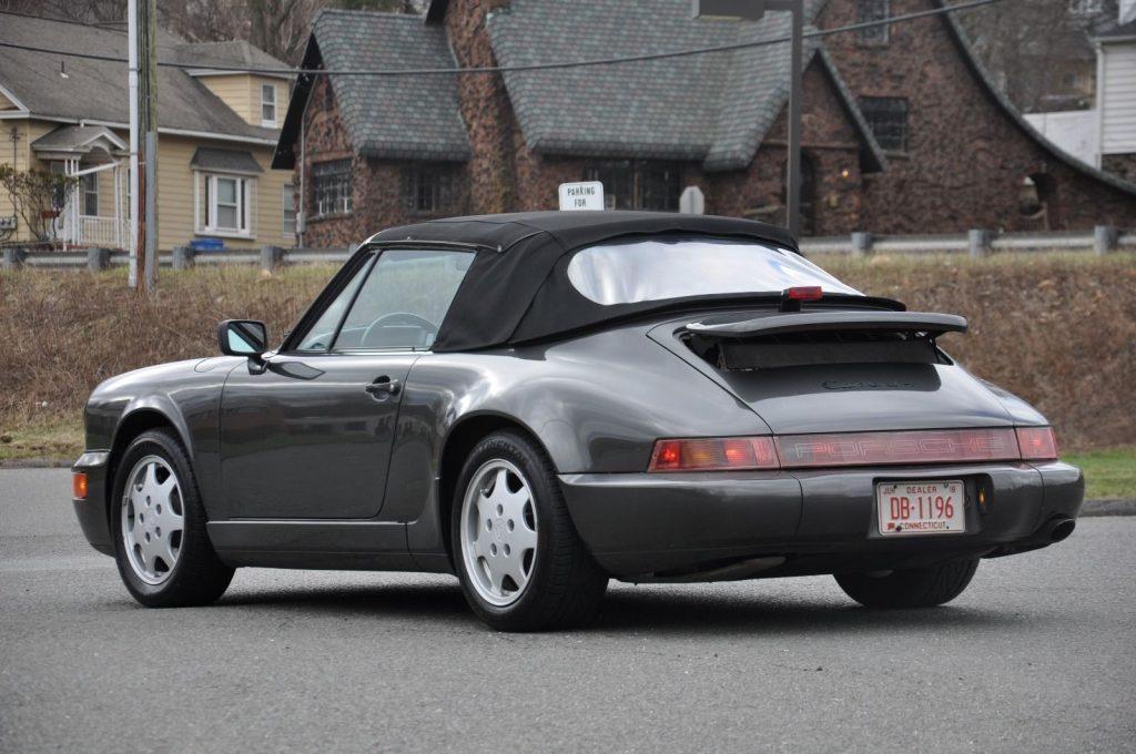 1991 Porsche 911 946 Carrera 4 Cabriolet