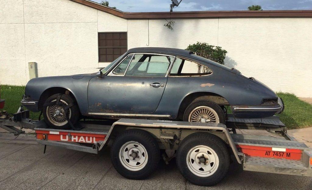 Early 1967 Porsche 912 Barn find