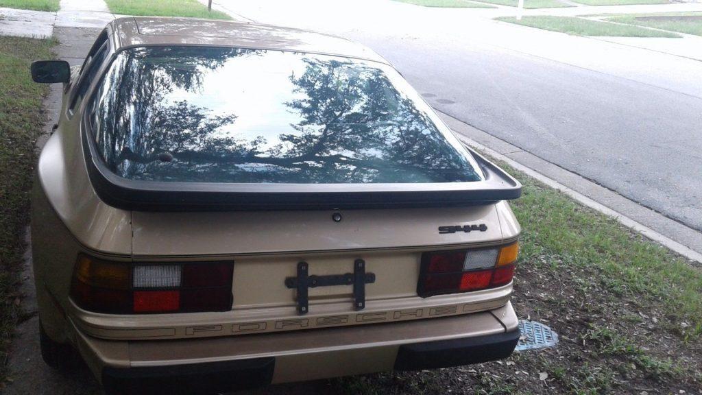 Florida 1987 Porsche 944 Trim package
