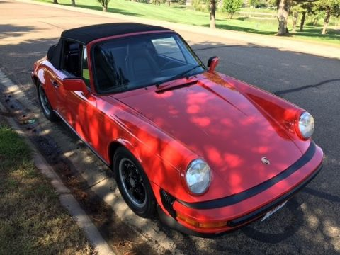 Guards Red 1985 Porsche 911 Carrera Cabriolet for sale