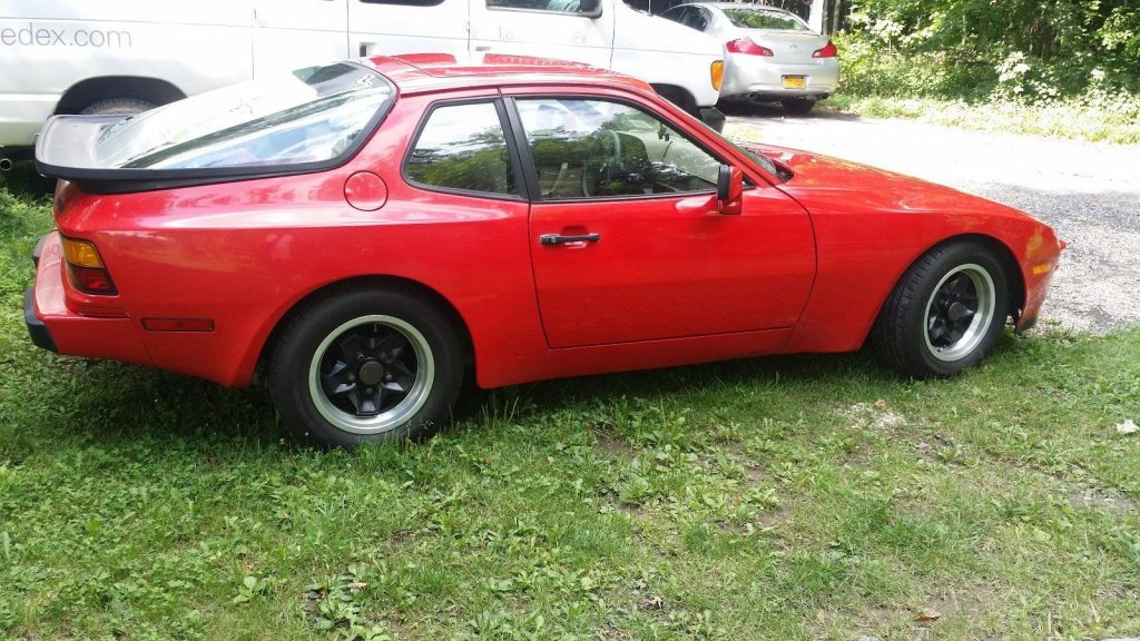 Red 1984 Porsche 944 (PCA member owned)