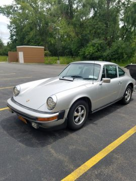 Silver 1976 Porsche 912e for sale