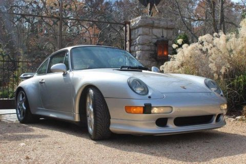 1997 Porsche 911 993 C4S Arctic Silver Metallic for sale