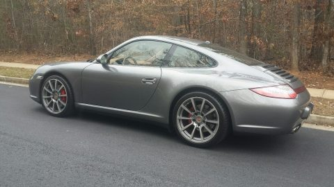 low miles 2009 Porsche 911 Carrera 4S for sale