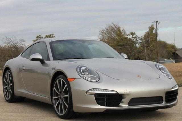 2012 Porsche 911 991 Carrera S Coupe