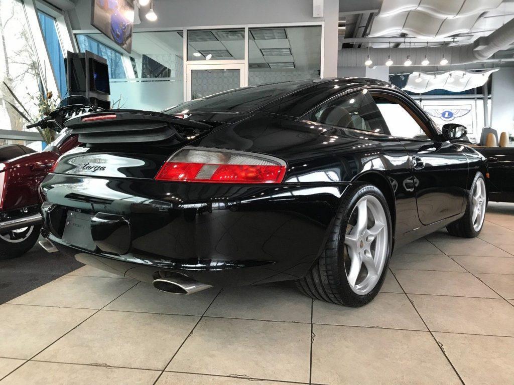 2003 Porsche 911 Carrera Targa in excellent condition