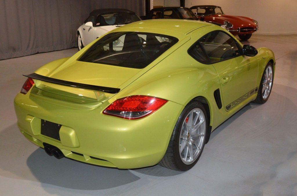 Fabulous 2012 Porsche Cayman R Coupe