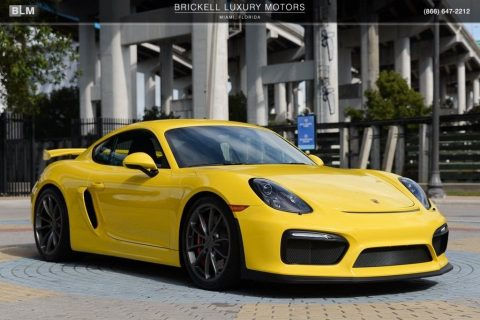 NICE 2016 Porsche Cayman GT4 for sale