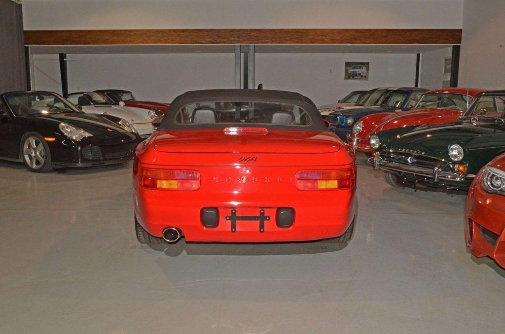 Very rare 1993 Porsche 968 Cabriolet