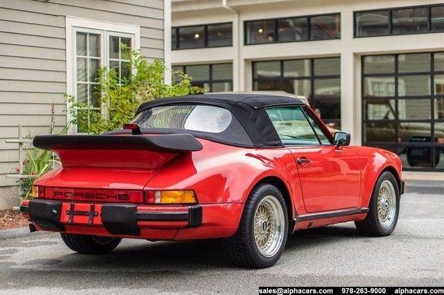 1986 Porsche 911 Carrera Cabriolet M491 Turbo Look