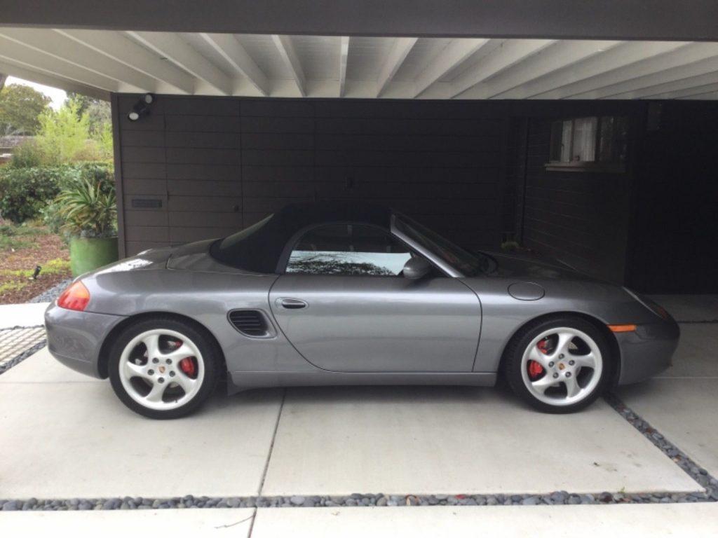 AMAZING 2002 Porsche Boxster
