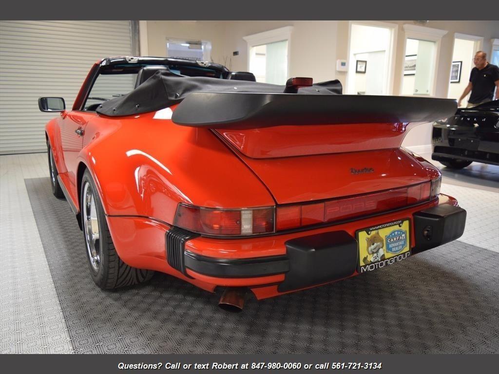 STUNNING 1987 Porsche 911 930 Turbo M505
