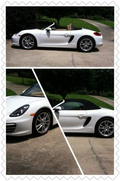 BEAUTIFUL 2014 Porsche Boxster Beige/tan Leather for sale
