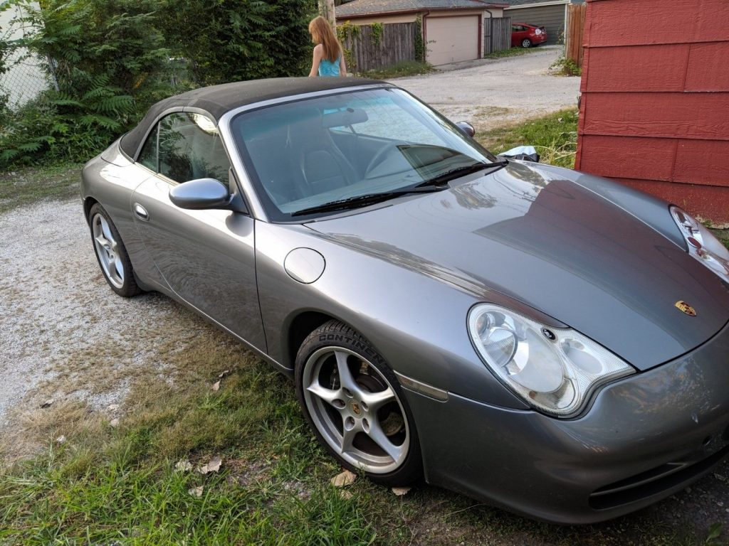2002 Porsche 911 convertible 3.6l Roller Needs Engine or part it out